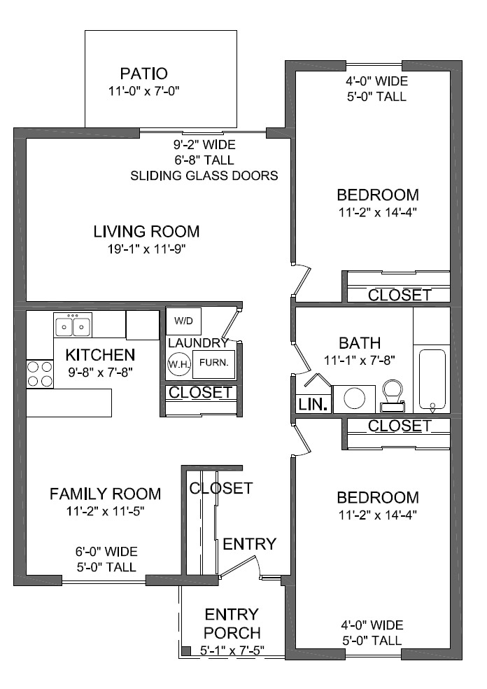 The Azure Floor Plan Images 28 Redrow Oxford 4